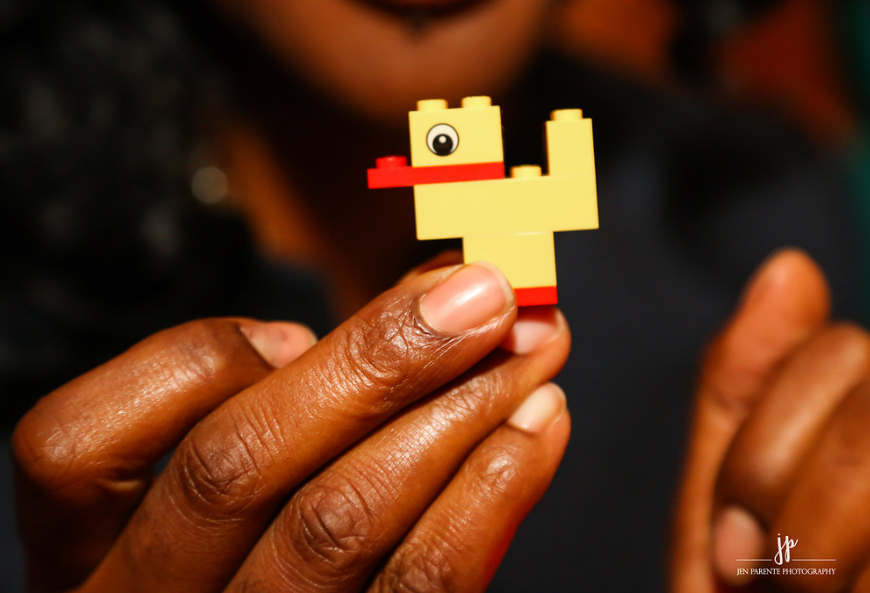 """Everything starts with a little Lego idea,"" says Colin Gillespie, President of Lego Education"